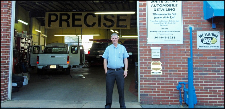 Owner Phillip Pierce at Precise Auto Service